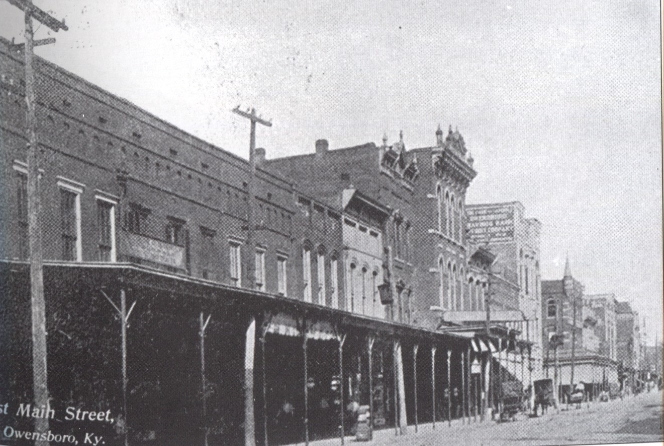 East Main Street, ca. 1903